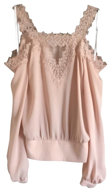 Preload https://item4.tradesy.com/images/bebe-peach-off-shoulder-blouse-size-2-xs-23832838-0-1.jpg?width=400&height=650