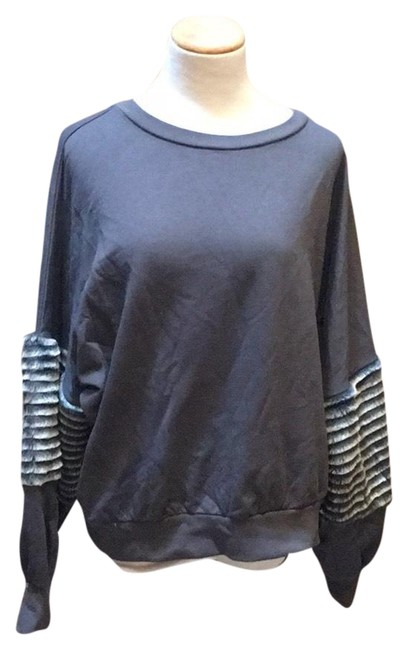 Preload https://item1.tradesy.com/images/young-fabulous-and-broke-gray-and-sweatshirthoodie-size-8-m-23832845-0-1.jpg?width=400&height=650