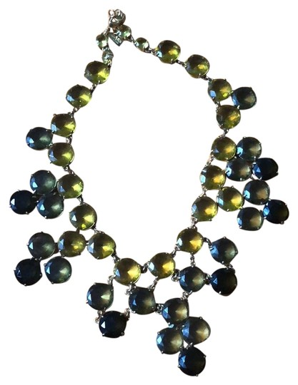 Preload https://img-static.tradesy.com/item/23832850/kate-spade-green-citron-crystal-confection-necklace-0-1-540-540.jpg