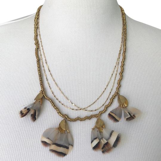 Preload https://item5.tradesy.com/images/anthropologie-gold-feathers-layered-necklace-23832854-0-5.jpg?width=440&height=440