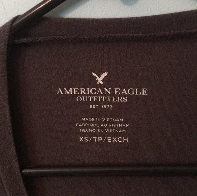 American Eagle Outfitters T Shirt Gray