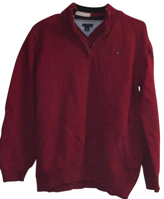 Preload https://item2.tradesy.com/images/tommy-hilfiger-red-sweaterpullover-size-8-m-23832901-0-2.jpg?width=400&height=650