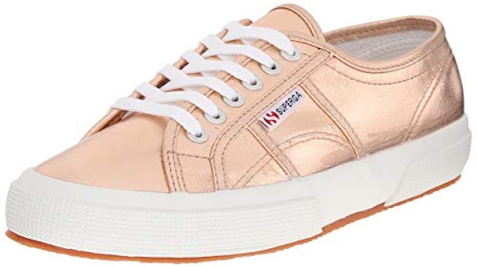 New Superga Box Sneaker 2750 Rose Sneakers 9 Gold 1 2 41 Eu with Cotmetu qEpEr