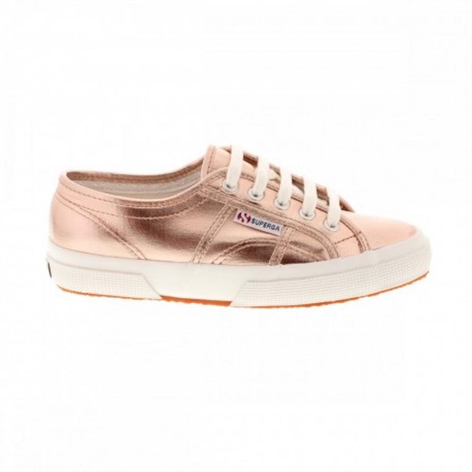 2 Gold Sneakers Rose Sneaker Superga Box 9 2750 with 41 1 Eu Cotmetu New 7Z6O6nBx