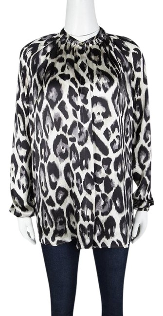 Preload https://item4.tradesy.com/images/lanvin-multicolor-leopard-print-long-sleeve-silk-blouse-size-6-s-23832908-0-1.jpg?width=400&height=650