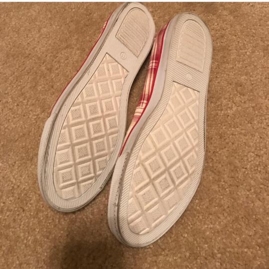 Sun casuals Red & white Flats