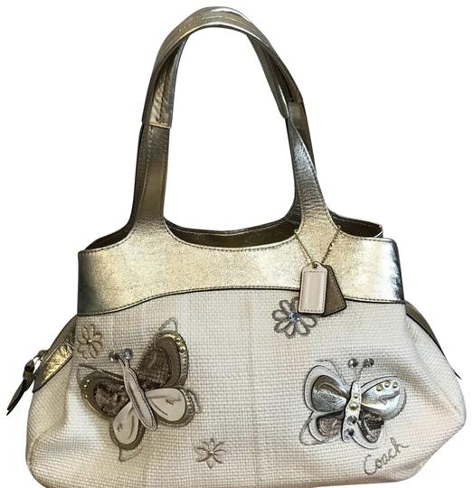 Preload https://item5.tradesy.com/images/coach-canvas-cream-and-gold-tote-23832939-0-1.jpg?width=440&height=440