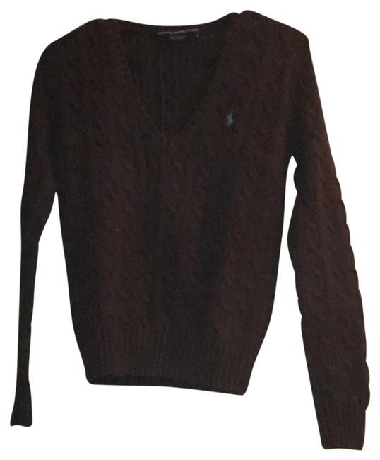 Preload https://img-static.tradesy.com/item/23832942/ralph-lauren-collection-brown-sweaterpullover-size-4-s-0-1-650-650.jpg