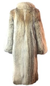 Designer Natural Fox Fur Coat Fur Coat