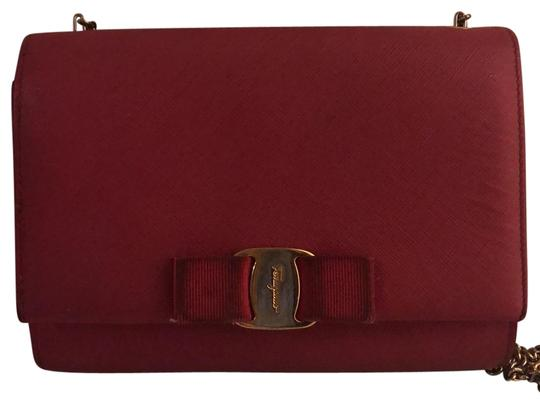 Preload https://item1.tradesy.com/images/salvatore-ferragamo-a-signature-vara-bow-sets-off-an-elegant-accented-with-logo-etched-hardware-and--23832955-0-1.jpg?width=440&height=440