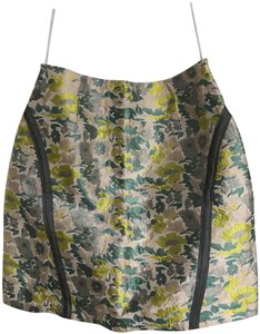 Opening Ceremony Mini Skirt Pale pink, yellow, turqoise