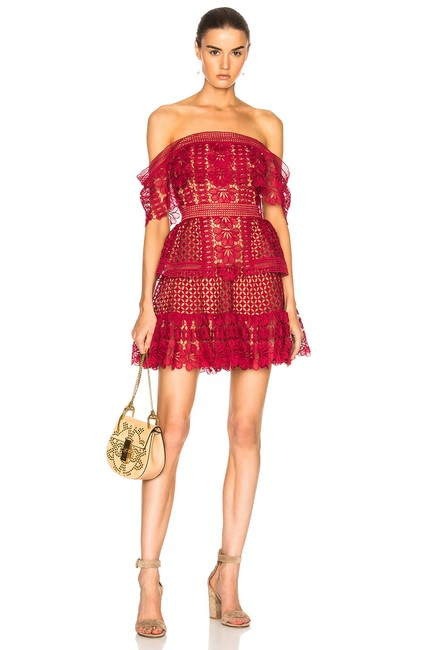 Preload https://img-static.tradesy.com/item/23832978/red-dorothy-lace-off-shoulder-short-cocktail-dress-size-6-s-0-0-650-650.jpg