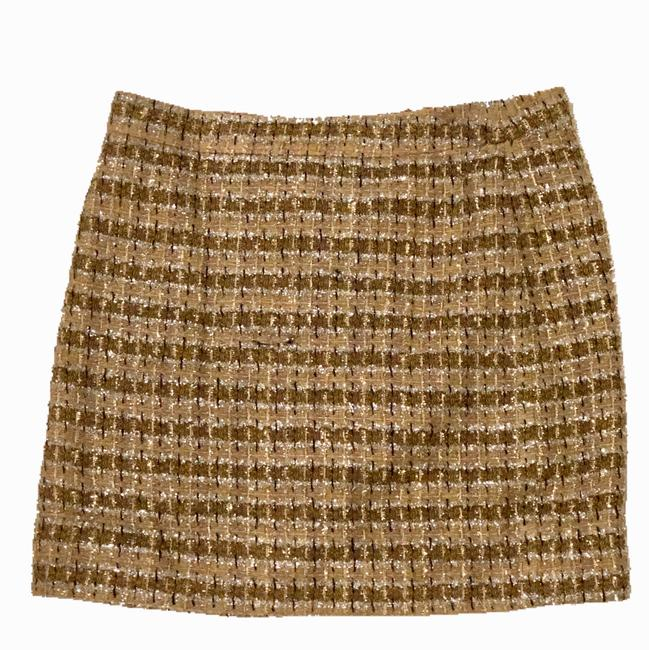 Preload https://img-static.tradesy.com/item/23832987/jcrew-gold-tinsel-miniskirt-size-4-s-27-0-0-650-650.jpg