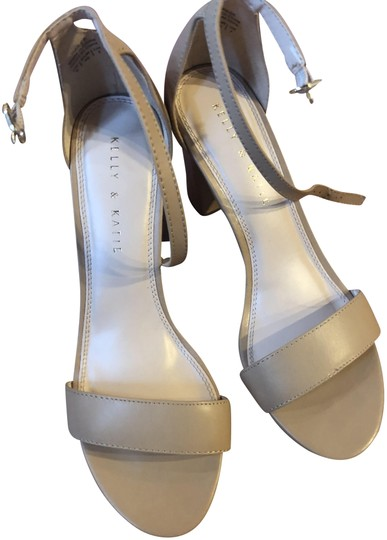 Preload https://item5.tradesy.com/images/kelly-and-katie-nude-chunky-sandals-size-us-9-regular-m-b-23832989-0-1.jpg?width=440&height=440