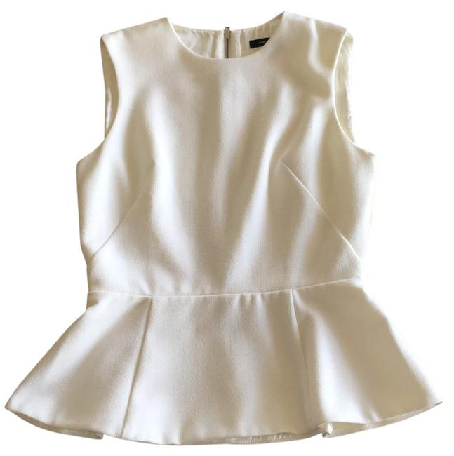 Preload https://item4.tradesy.com/images/french-connection-white-sleeveless-peplum-blouse-size-2-xs-23833013-0-1.jpg?width=400&height=650