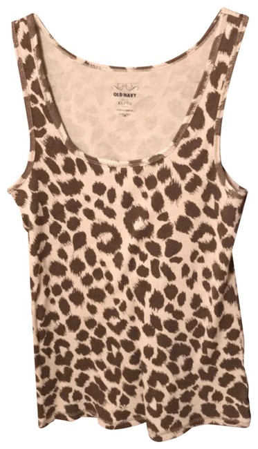 Preload https://item2.tradesy.com/images/old-navy-brown-and-tan-animal-print-tank-topcami-size-16-xl-plus-0x-23833026-0-1.jpg?width=400&height=650