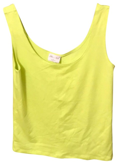 Preload https://img-static.tradesy.com/item/23833033/lime-green-stretchy-tank-topcami-size-6-s-0-1-650-650.jpg