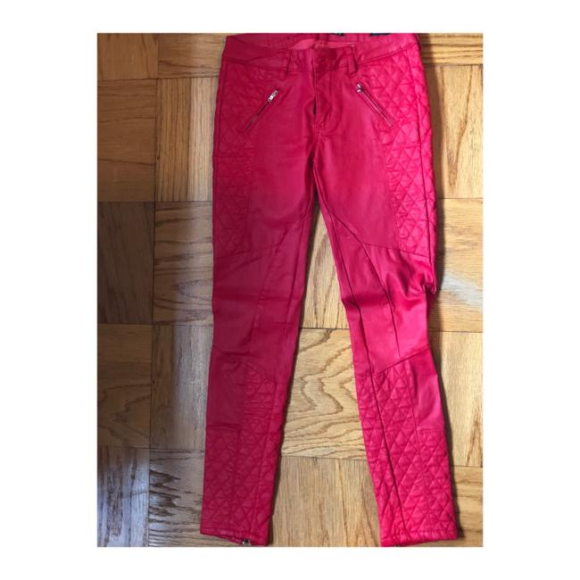 Zara Skinny Pants red