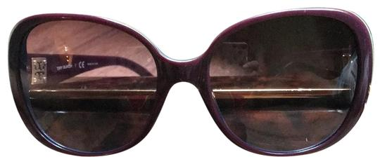 Preload https://img-static.tradesy.com/item/23833060/tory-burch-deep-purple-with-blueyellow-stripe-around-outside-of-frame-ty7036-sunglasses-0-1-540-540.jpg