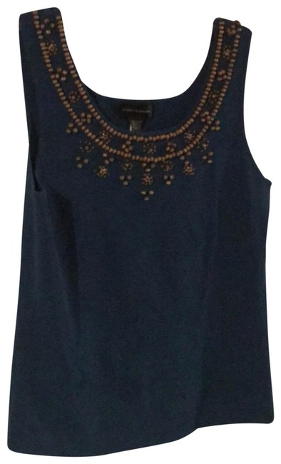 Preload https://img-static.tradesy.com/item/23833062/cable-and-gauge-teal-beaded-tank-topcami-size-12-l-0-1-650-650.jpg