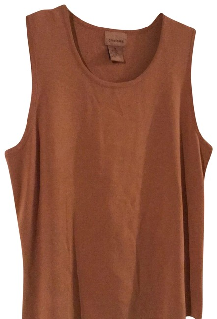 Preload https://img-static.tradesy.com/item/23833068/choices-tan-tank-topcami-size-10-m-0-1-650-650.jpg