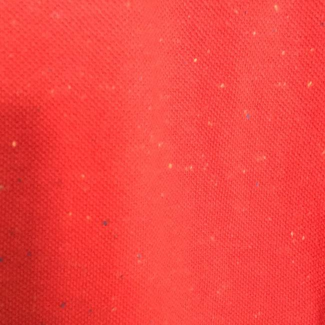 Marc by Marc Jacobs T Shirt Red with barely visible flecks of yellow, khaki, white, blue