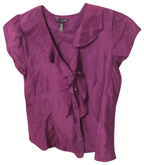 Preload https://img-static.tradesy.com/item/23833104/banana-republic-purple-silk-blend-blouse-size-8-m-0-1-650-650.jpg