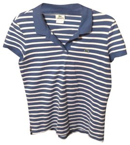Lacoste Top Blue & white