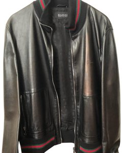 b8f82e03985 Gucci Leather Jackets - Up to 70% off at Tradesy