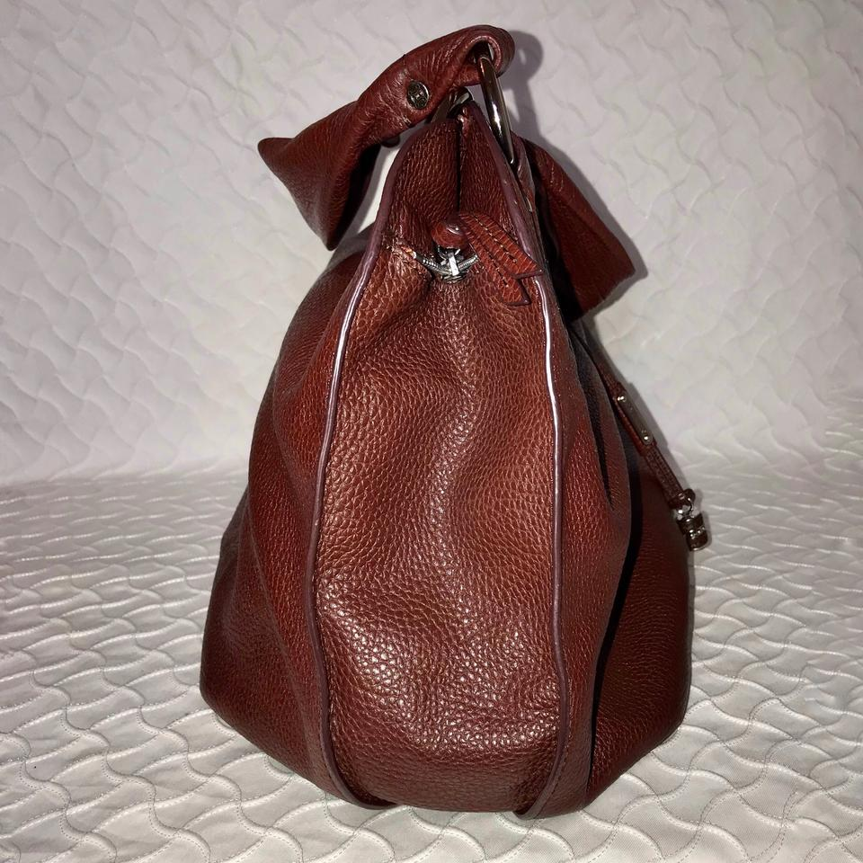 Burgundy Céline Hobo Bittersweet Leather Bag Large qEwF0T