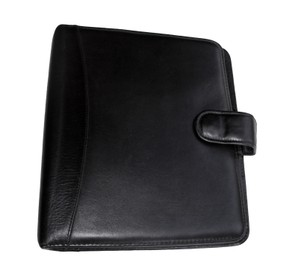 Franklin Covey Vintage Nappa Leather Classic Planner Binder USA