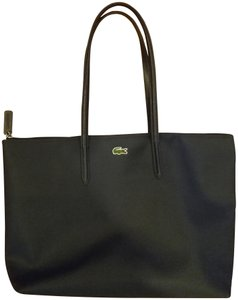 Lacoste Durable Travel Pvc Minimal Tote in eclipse