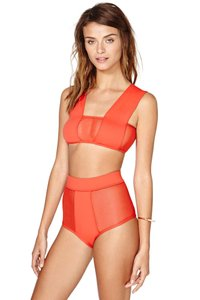 Minimale Animale NEW Nasty Gal S Swimsuit Female Lady Fashion Spandex Tactel Top Bottom