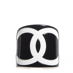 Chanel CHANEL CC LOGO LARGE CUFF 2003 STAMPED