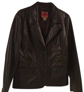 RVT Brown Leather Jacket