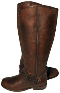 Frye 76843 Phillip Riding Size 6.5 Women Size 6.5 Brown Boots