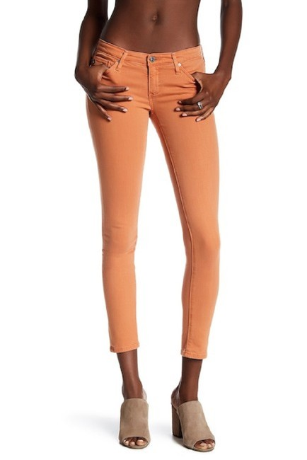 Item - Orange Light Wash The Legging Ankle Skinny Jeans Size 27 (4, S)