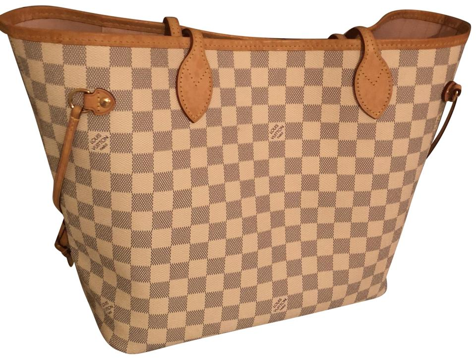 6e2dcf60181c ... Louis Vuitton Neverfull Mm Damier Ebene Brown Canvas Tote ...