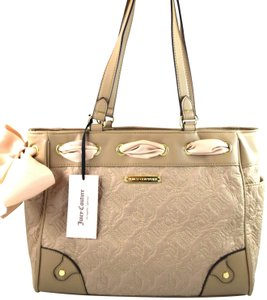 Juicy Couture Tote in Beach Brown