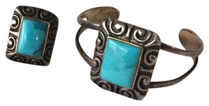 Barse turquoise and sterling