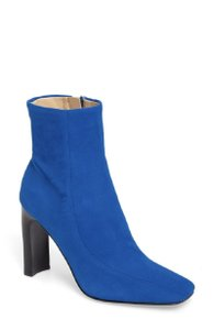 Marc Fisher Suede Leather Ankle Cobalt Blue Boots