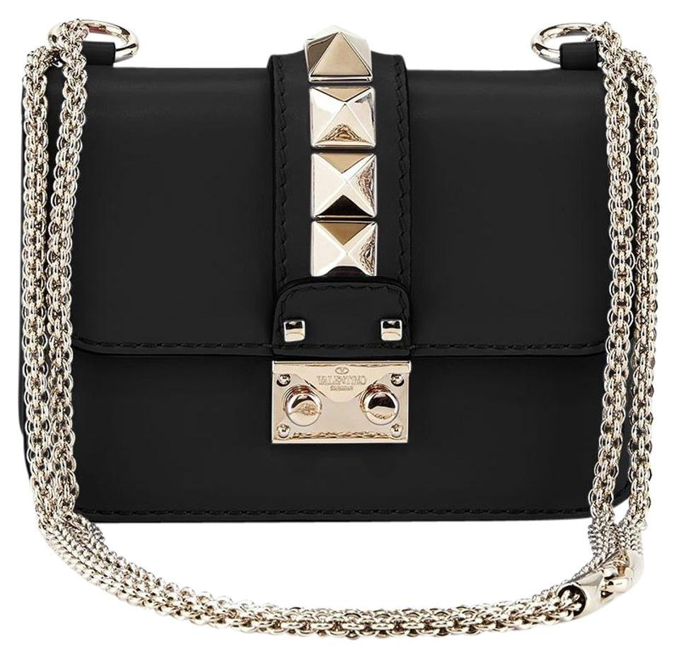 62d43169a9a Valentino Rockstud Studded Classic Shoulder Cross Body Bag Image 0 ...