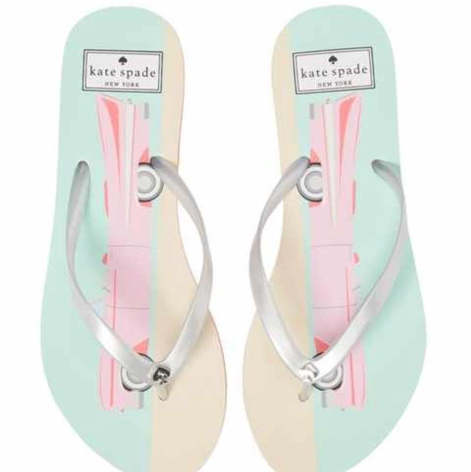 Sandals Flipflops Kate Spade Cadillac Pink T1Hx7qF