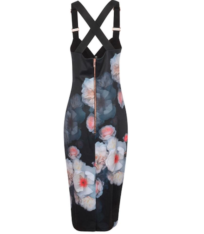 Floral Cocktail Dress Baker Bodycon Ted Chelsea Print RzPT7wq5