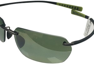 eaa2841d8e1 Maui Jim Maui Jim Alakai MJ 743-02D Fashion Rectangle Polarized Sunglasses