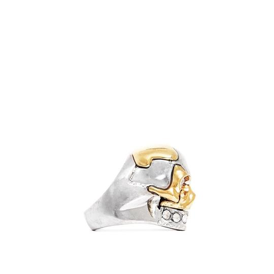 Alexander McQueen PUZZLE SKULL RING Image 1