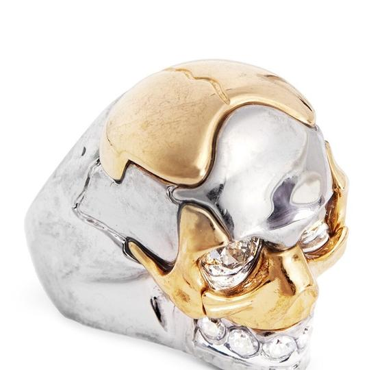 Alexander McQueen PUZZLE SKULL RING Image 2