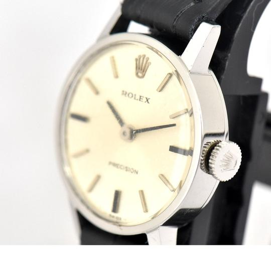 Rolex Vintage Rolex Precision 2649 Stainless Steel Hand-Winding Ladies Watch