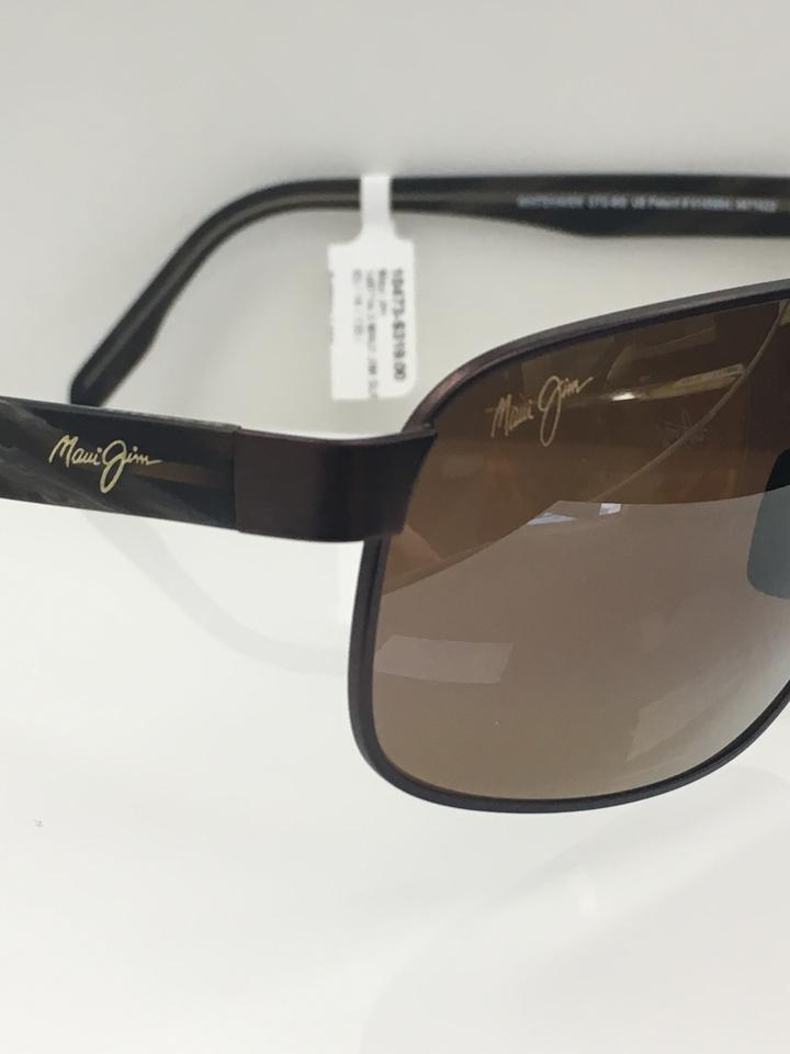 a64a4ef6f1 Maui Jim Satin Chocolate-01m Men s Whitehaven Mj 776-01m Fashion ...