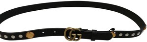 Gucci Crystal Belt With Double GG Buckle Size 36/90